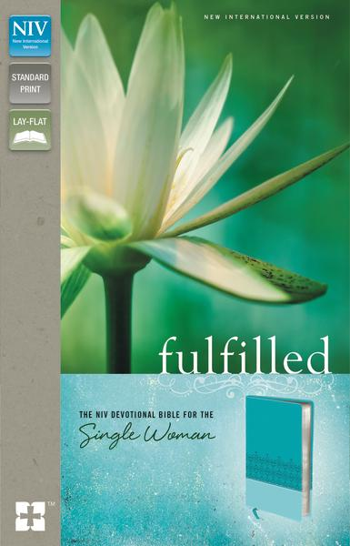NIV, Fulfilled Devotional Bible for the Single Woman, Leathersoft, Turquoise: The NIV Devotional Bible for the Single Woman