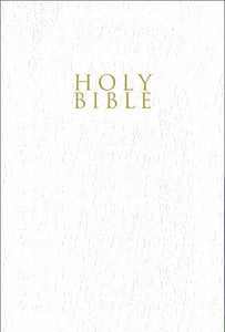 NIV, Gift and Award Bible, Leather-Look, White, Red Letter Edition