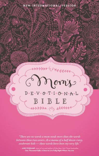 NIV, Mom's Devotional Bible, Hardcover
