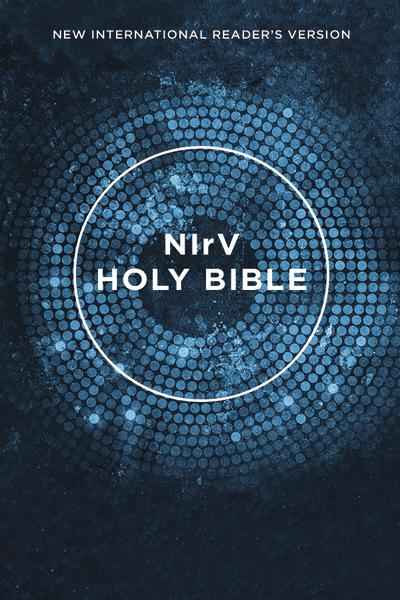 NIrV, Outreach Bible, Paperback, Blue