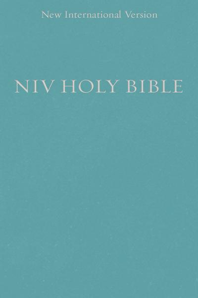 NIV, Holy Bible, Compact, Paperback, Teal