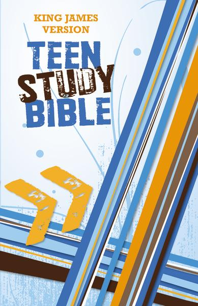 KJV, Teen Study Bible, Hardcover