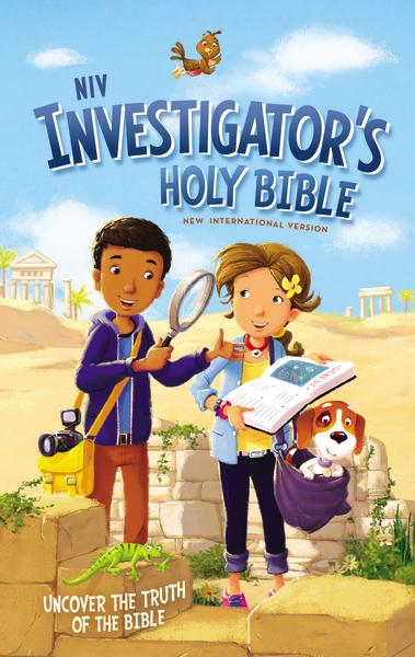 NIV, Investigator's Holy Bible, Hardcover: Uncover the Truth of the Bible