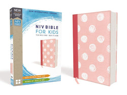 NIV, Bible for Kids, Cloth over Board, Pink, Red Letter Edition, Comfort Print: Thinline Edition