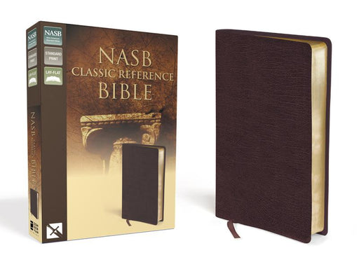 NASB, Classic Reference Bible, Bonded Leather, Burgundy, Red Letter Edition: The Perfect Choice for Word-for-Word Study of the Bible