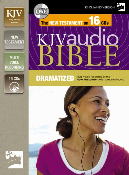 KJV, New Testament Dramatized Audio, Audio CD: Holy Bible, King James Version