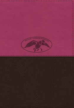 NKJV, Duck Commander Faith and Family Bible, Leathersoft, Pink/Brown: Holy Bible, New King James Version