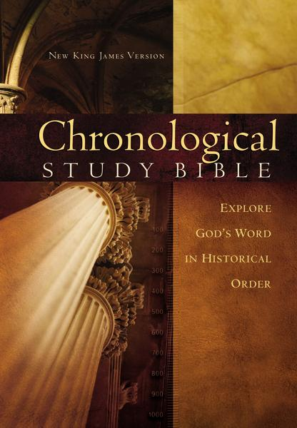 NKJV, The Chronological Study Bible, Hardcover: Holy Bible, New King James Version
