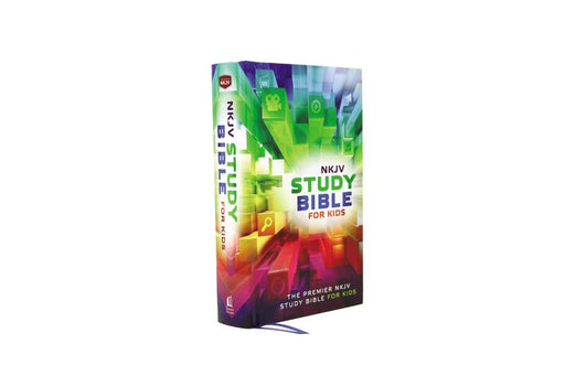 NKJV, Study Bible for Kids, Hardcover, Multicolor: The Premiere NKJV Study Bible for Kids