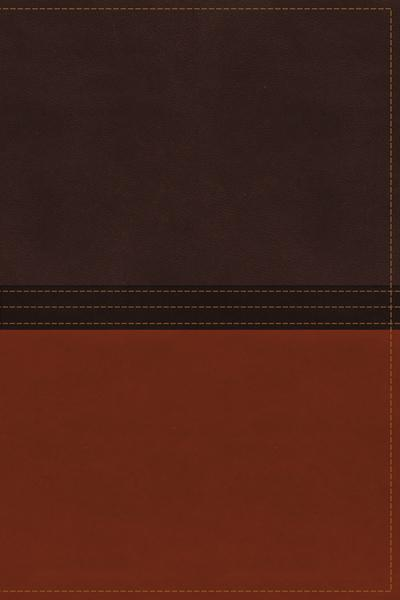 The NASB, MacArthur Study Bible, Leathersoft, Brown/Orange, Thumb Indexed: Holy Bible, New American Standard Bible