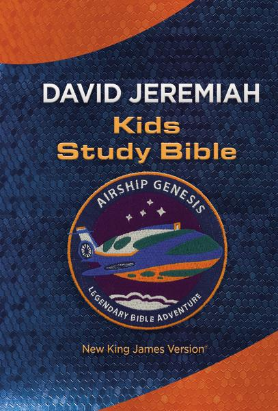 NKJV, Airship Genesis Kids Study Bible, TechTile Leather Edition