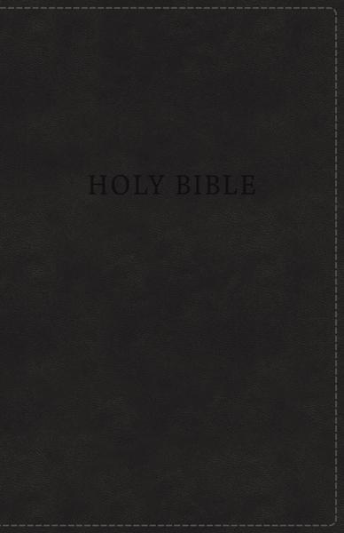 KJV, Deluxe Gift Bible, Leathersoft, Black, Red Letter Edition, Comfort Print: Holy Bible, King James Version