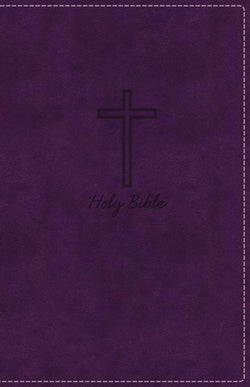 KJV, Deluxe Gift Bible, Leathersoft, Purple, Red Letter Edition, Comfort Print: Holy Bible, King James Version
