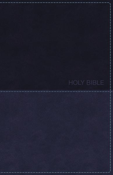 KJV, Deluxe Gift Bible, Leathersoft, Blue, Red Letter Edition, Comfort Print: Holy Bible, King James Version