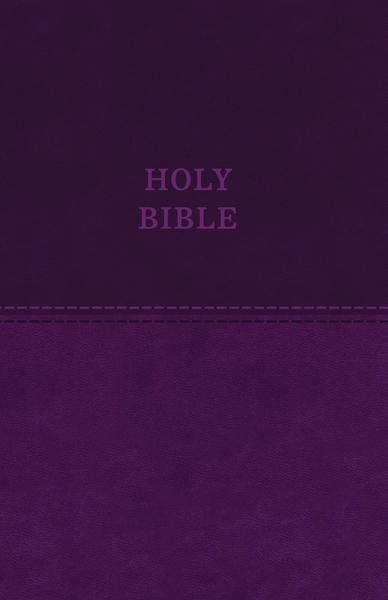 KJV, Value Thinline Bible, Leathersoft, Purple, Red Letter Edition, Comfort Print: Holy Bible, King James Version
