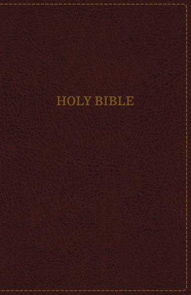 KJV, Thinline Bible, Leathersoft, Burgundy, Thumb Indexed, Red Letter Edition, Comfort Print: Holy Bible, King James Version