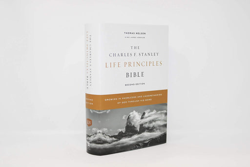 KJV, Charles F. Stanley Life Principles Bible, 2nd Edition, Hardcover, Comfort Print: Growing in Knowledge and Understanding of God Through His Word