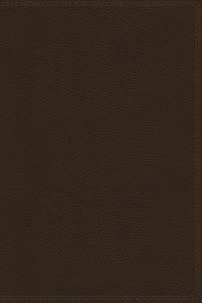 KJV, Charles F. Stanley Life Principles Bible, 2nd Edition, Genuine Leather, Brown, Thumb Indexed, Comfort Print: Growing in Knowledge and Understanding of God Through His Word