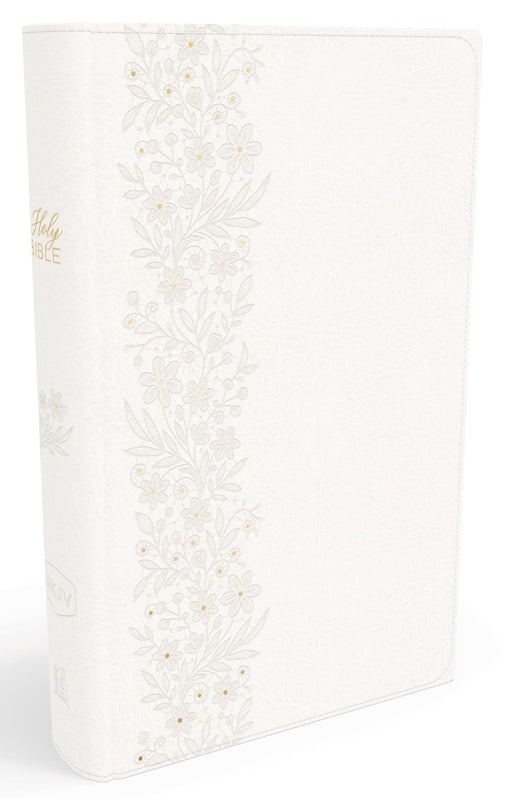 NKJV, Bride's Bible, Leathersoft, White, Red Letter Edition, Comfort Print: Holy Bible, New King James Version