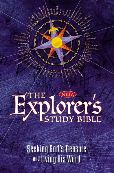 The NKJV, Explorer's Study Bible, Hardcover: Seeking God's Treasure and Living His Word