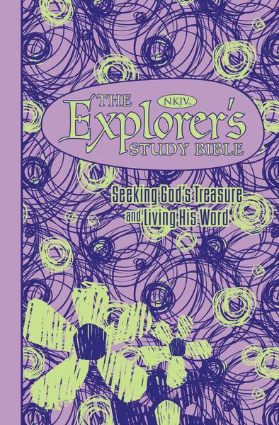 The NKJV, Explorer's Study Bible, Leathersoft, Purple: Seeking God's Treasure and Living His Word