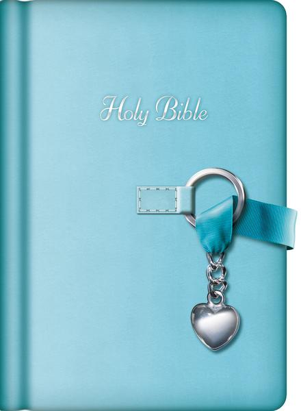 NKJV, Simply Charming Bible, Hardcover: Charm Bible Blue Edition