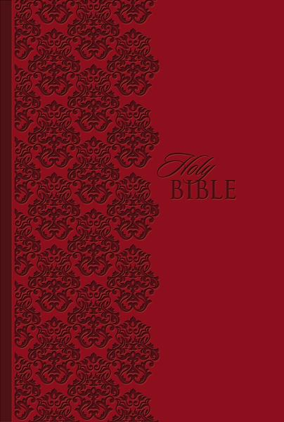 KJV Study Bible, Personal Size, Leathersoft, Red, Red Letter Edition: Holy Bible, King James Version