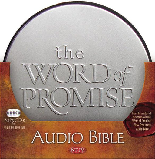 NKJV, The Word of Promise Complete Audio Bible, MP3-CD Audio, Interactive Bonus Features DVD: Complete Audio Bible MP3-CD