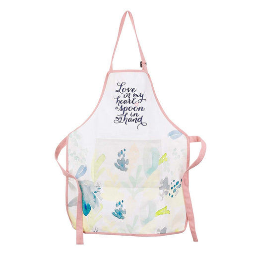 Love in My Heart Cotton Apron