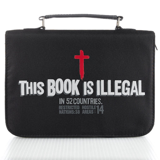 Illegal In 52 Countries in Micro-Fiber Bible Cover
