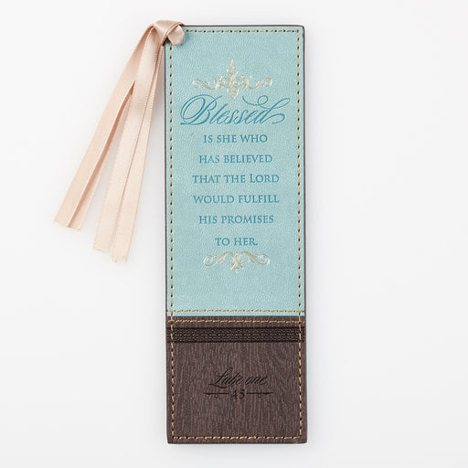 Blessed Is She Who Has Believed Bookmark