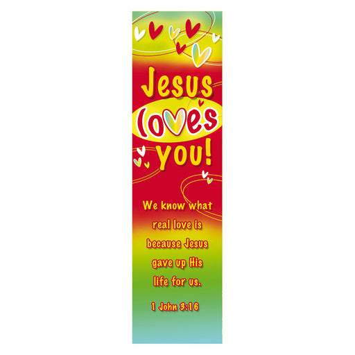 Jesus Loves You Bookmarks
