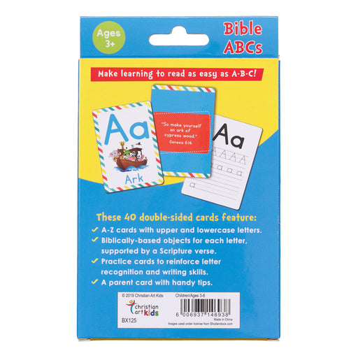 Bible ABC's Boxed Cards for Kids