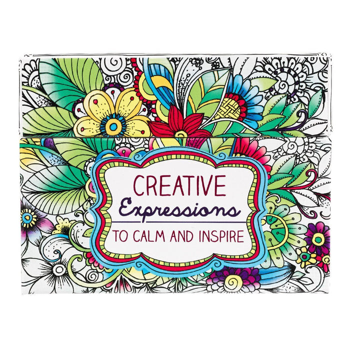 Creative Expressions Coloring Cards