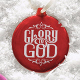 Ornament Round - Glory to God