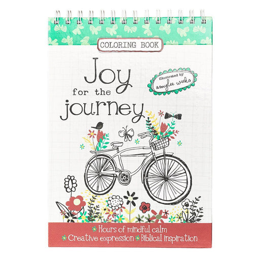 Joy for the Journey by Amylee Weeks Wirebound Coloring Book