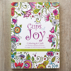 Coloring Book: Cups of Joy by Annabelle Grobler