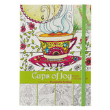 Cups of Joy by Annabelle Grobler Pocket Size Coloring Book