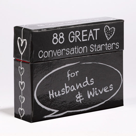 Conversation Starters For Husbands and Wives *On backorder until 1/26