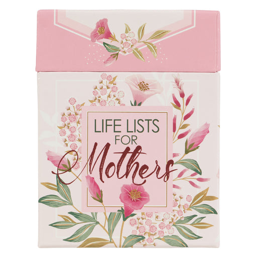 Life Lists for Mothers - Inspirational Boxed Cards