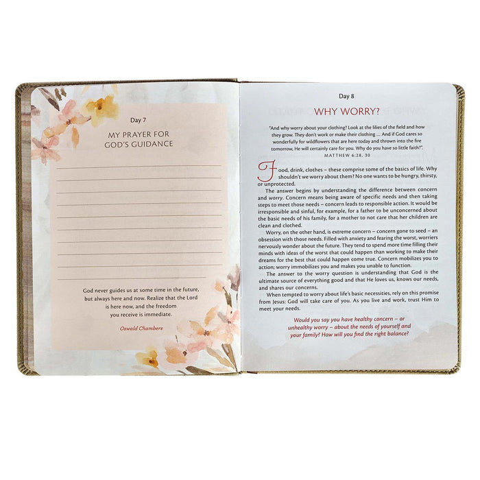 My Quiet Time Devotional Faux Leather Edition