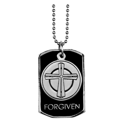 """Forgiven"" Dog Tag"
