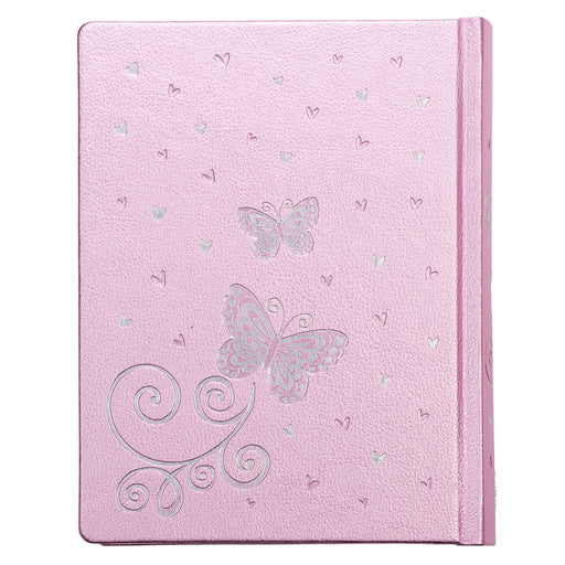 My Creative Bible for Girls, Journaling Bible - ESV - Pink LuxLeather Hardcover