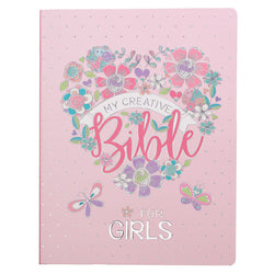 My Creative Bible for Girls, Journaling Bible - ESV - Flexcover