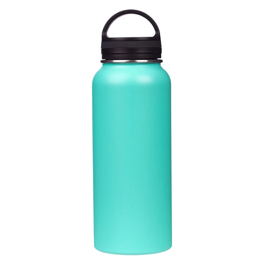 Hope and Future Turquoise Stainless Steel Water Bottle - Jeremiah 29:11