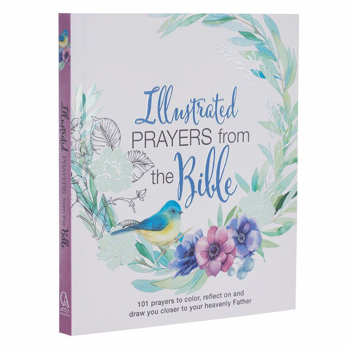 Illustrated Prayers From The Bible: A Creative Prayer Book