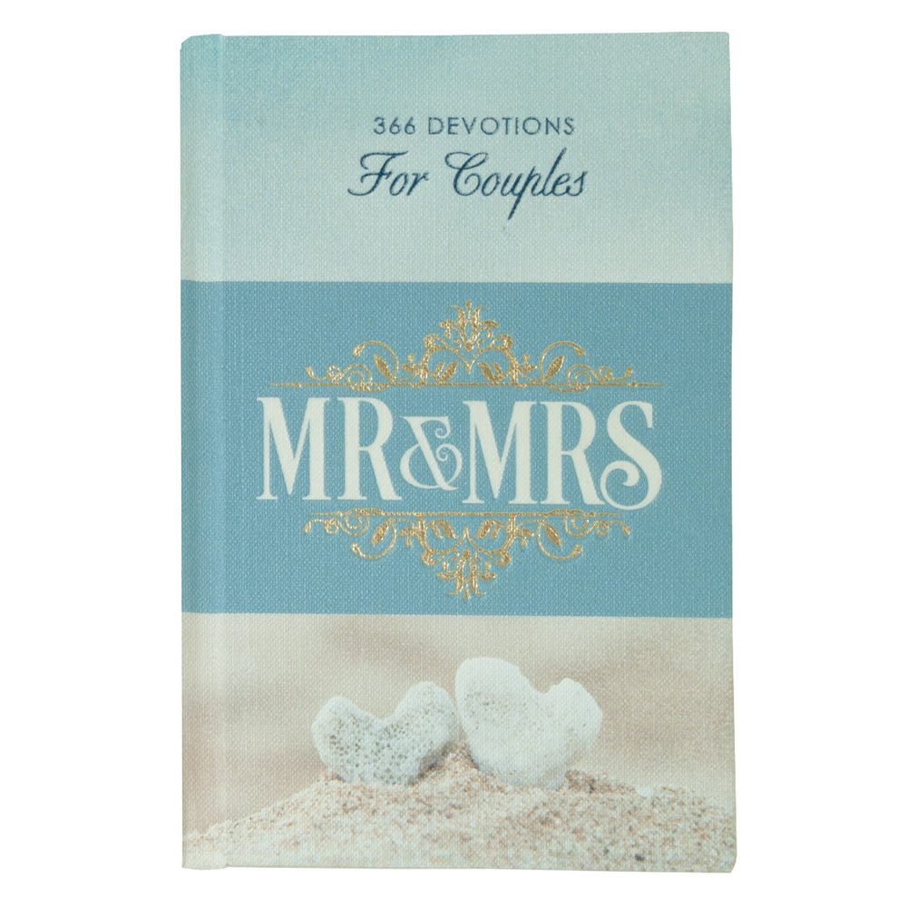 Mr and Mrs 366 Devotions for Couples - Hardcover Edition