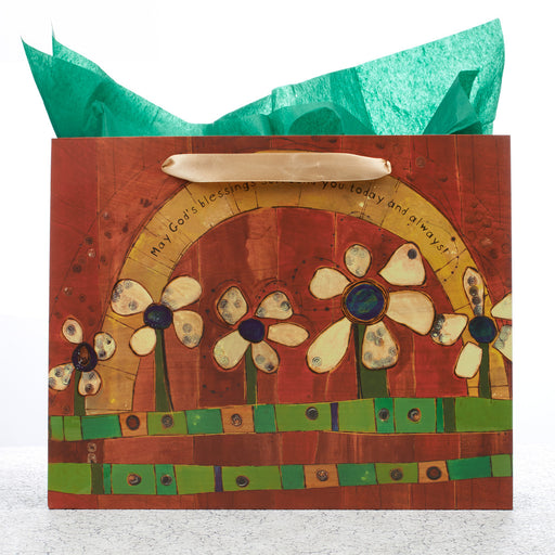 "Large Gift Bag ""May God's Blessings Surround You"""