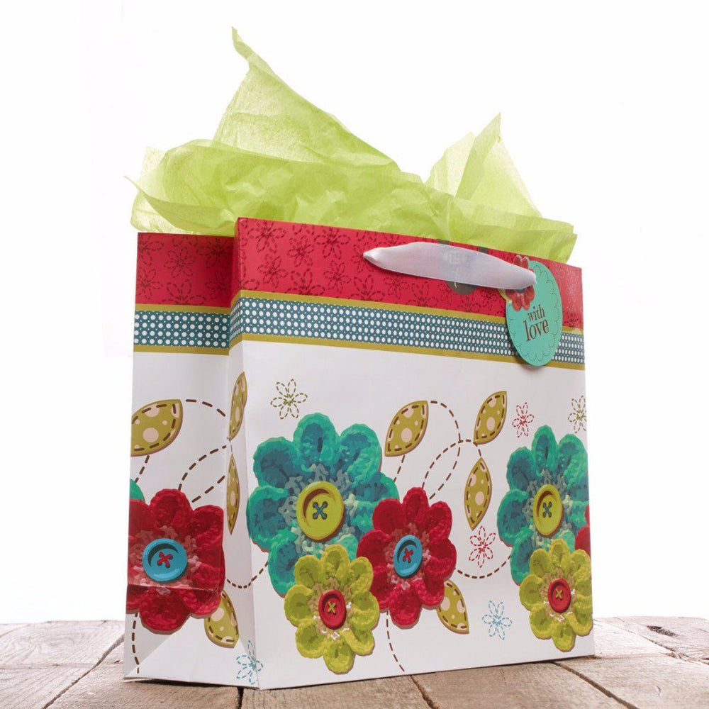 "Large Gift Bag ""One Blessing After Another"" - John 1:16"