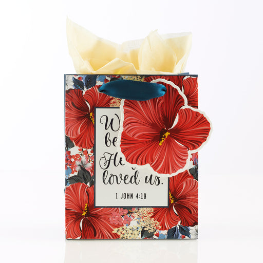 He First Loved Us Extra Small Gift Bag – 1 John 4:19